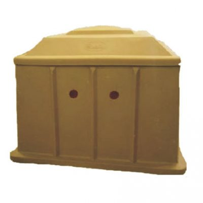 Plastic-Box--Brown