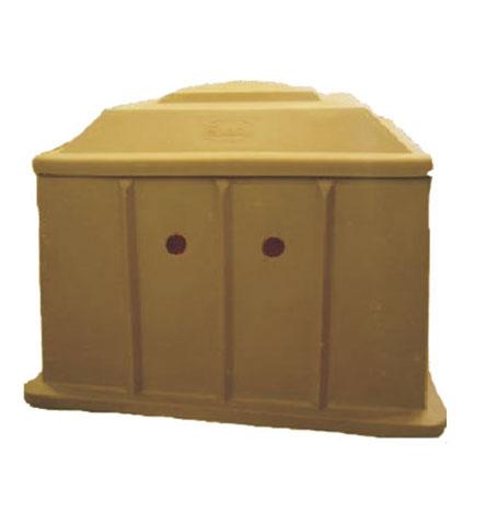 Plastic-Box--Brown