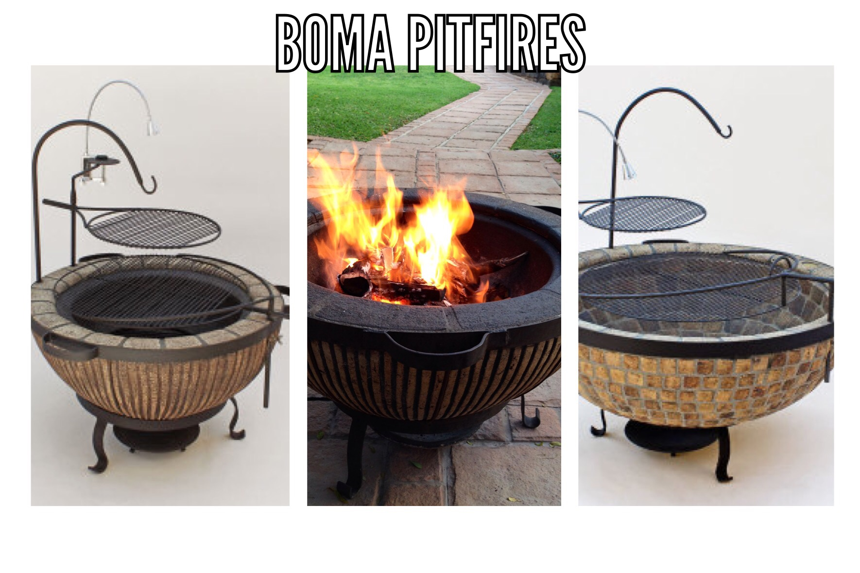 Boma Firepits and Braais | WaterPlant - Turning your ... on Boma Ideas For Small Gardens id=73084