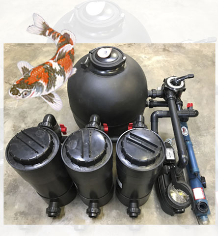 Koi Filter System 36000L Pond
