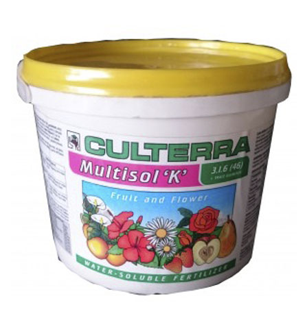 Multisol 'K' Fruit & Flower