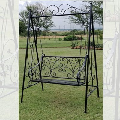 Swinging Victorian Garden Bench