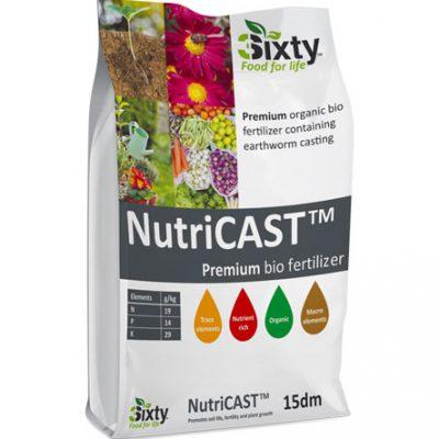 Sixty Nutricast Bio Fertilizer