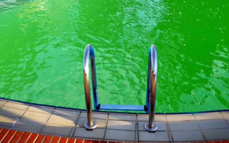 Help!!  my pool is Green