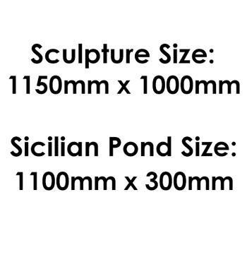 Sculpture & Pond Size